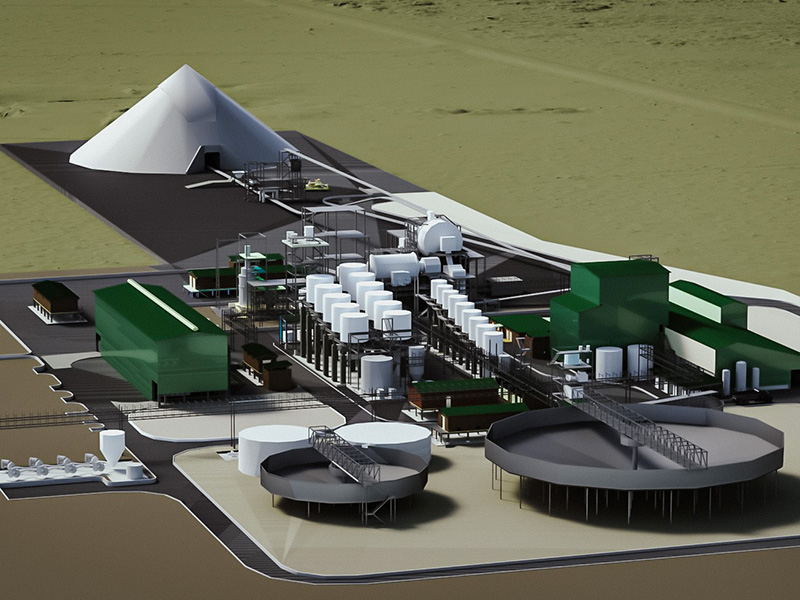 GDI and FATA signed a contract for a new concentrator plant of PGM in Zimbabwe